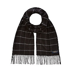 Hammond & Co. by Patrick Grant - Black checked scarf