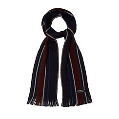 Hammond & Co. by Patrick Grant - Multi-coloured striped merino wool scarf