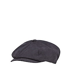 The Collection - Blue moulded baker boy cap