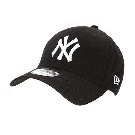 Yankee - Black +NY+ baseball cap