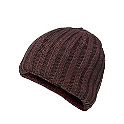 Maine New England - Wine red knitted thermal beanie