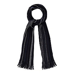 Mantaray - Navy striped scarf