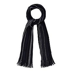 Mantaray - Navy striped scarf