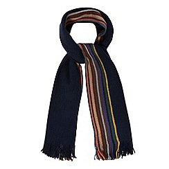 Mantaray - Navy side striped scarf