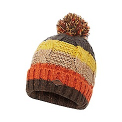 Mantaray - Multi-coloured striped bobble hat