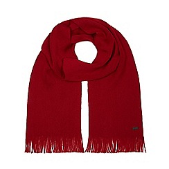 J by Jasper Conran - Red merino wool scarf