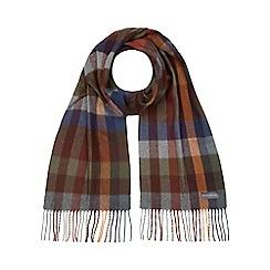 RJR.John Rocha - Multi-coloured checked scarf