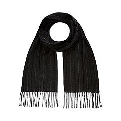 J by Jasper Conran - Grey herringbone scarf