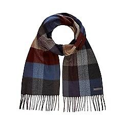 RJR.John Rocha - Grey checked scarf