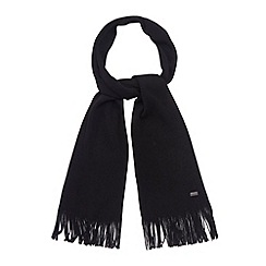 J by Jasper Conran - Designer black merino wool scarf