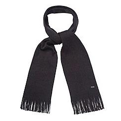 J by Jasper Conran - Designer grey merino wool scarf