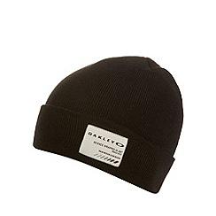 Oakley - Black cuff beanie hat