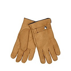 RJR.John Rocha - Designer tan leather gloves