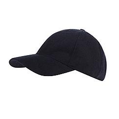 Maine New England - Navy melton baseball cap