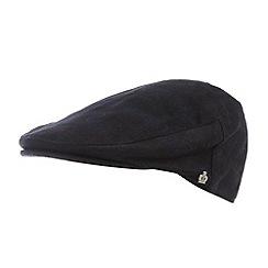 Jeff Banks - Designer black checked flat cap