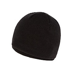 Maine New England - Black fleece lined beanie hat