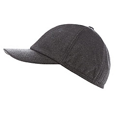 Maine New England - Dark grey ear flap baseball cap