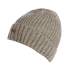 RJR.John Rocha - Designer grey speckled knit beanie hat