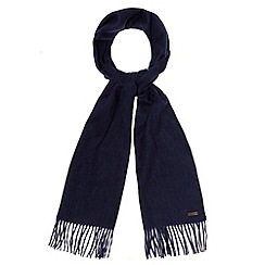 RJR.John Rocha - Navy plain cashmere scarf