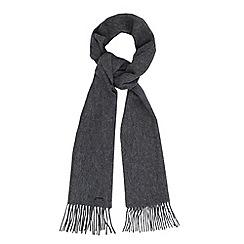 RJR.John Rocha - Designer grey cashmere mix scarf