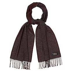 Hammond & Co. by Patrick Grant - Designer dark red merino scarf