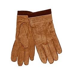 RJR.John Rocha - Designer tan suede gloves