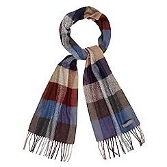 RJR.John Rocha - Designer grey checked scarf