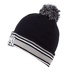 New Era - Navy 'New York Yankees' bobble hat