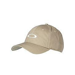 Oakley - Khaki logo embroidered cap