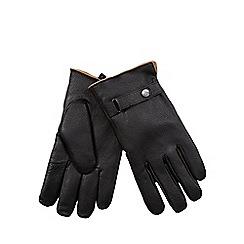 RJR.John Rocha - Black fleece lined leather gloves