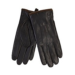 RJR.John Rocha - Brown touch screen compatible gloves in a gift box