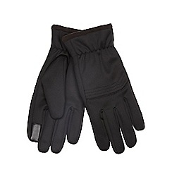 The Collection - Black touchscreen gloves