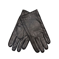 RJR.John Rocha - Black seamed wool gloves
