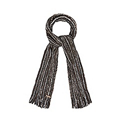 Mantaray - Brown twist knit scarf