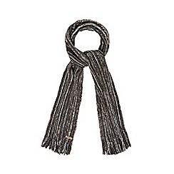Mantaray - Brown twist knit scarf