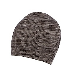 Red Herring - Brown mixed yarn beanie hat