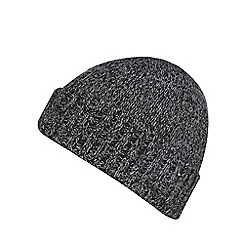 Red Herring - Dark grey turn up beanie