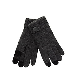 RJR.John Rocha - Grey touch screen gloves