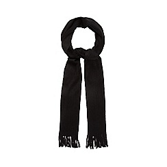 The Collection - Black knitted scarf