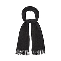 The Collection - Grey knitted scarf