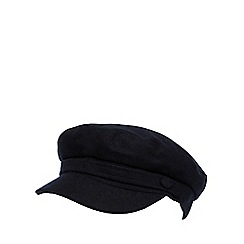 Hammond & Co. by Patrick Grant - Designer navy melton train driver hat