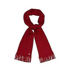 J by Jasper Conran - Red Merino wool scarf