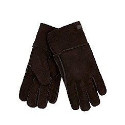 RJR.John Rocha - Black sheepskin gloves in a gift box