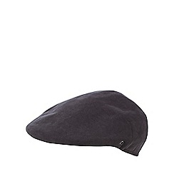 The Collection - Navy moulded flat cap