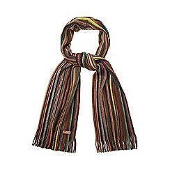 Mantaray - Green striped scarf