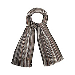 Mantaray - Grey striped scarf