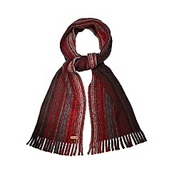 Mantaray - Red ombre striped scarf
