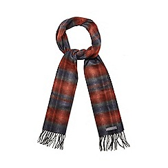 RJR.John Rocha - Orange subtle herringbone scarf