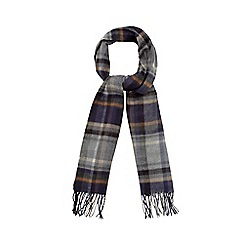 J by Jasper Conran - Grey checked scarf