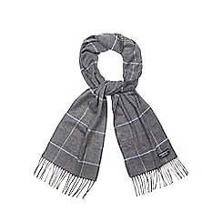 Hammond & Co. by Patrick Grant - Grey check pattern scarf